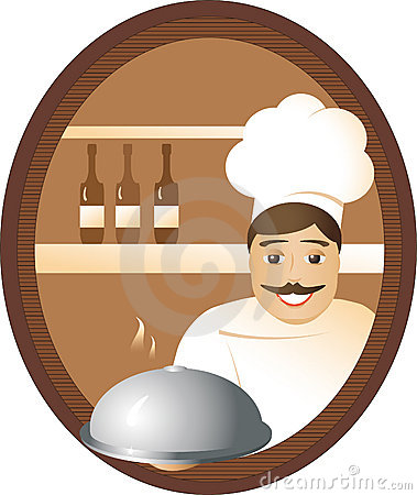 Man cook