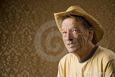 Man In A Cowboy Hat Stock Images - Image: 5685524