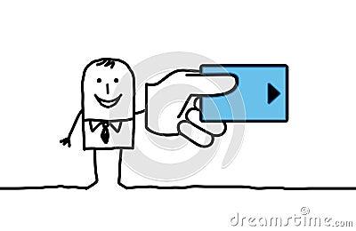 Man & credit card