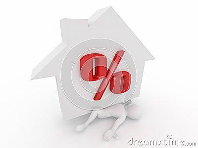 Man crushed percent of hypothec