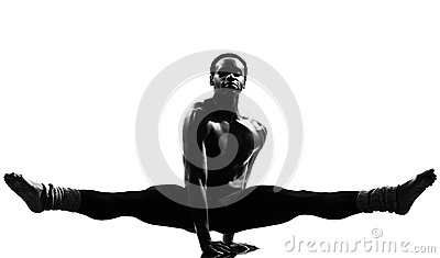 Man dancer dancing