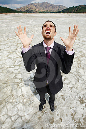 Man In Desert Stock Photos - Image: 16274063
