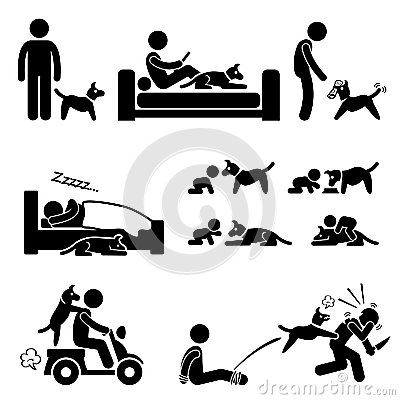 Man and Dog Relationship Pet
