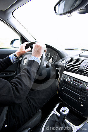 Free Man Driving Stock Images - 19315434