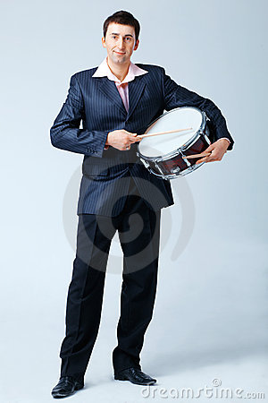 Man With Drum