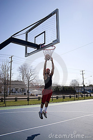 Dunking A Basketball. Man+dunking+a+basketball