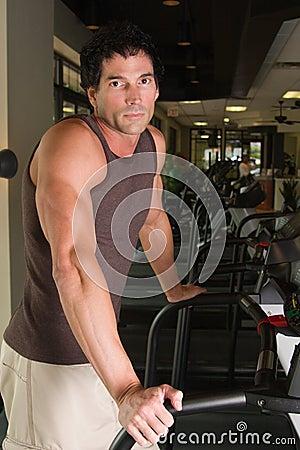 Man Exercising On Treadmill 5