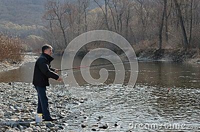 Man on fishing 14