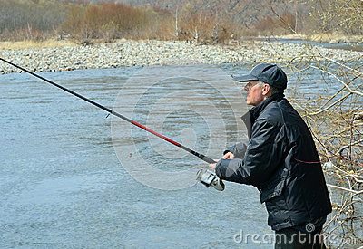 Man on fishing 2