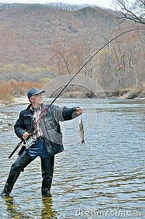 Man on fishing 7