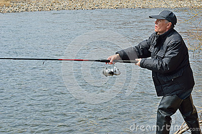 Man on fishing 8