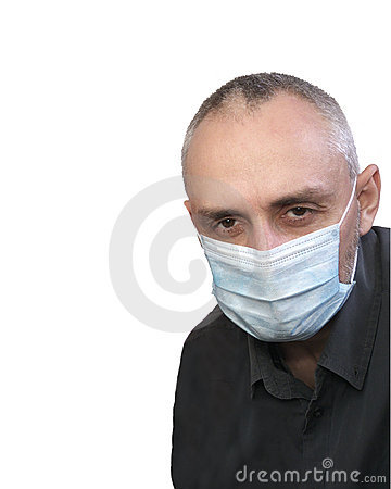 Man flu mask