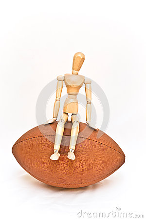 Man on football