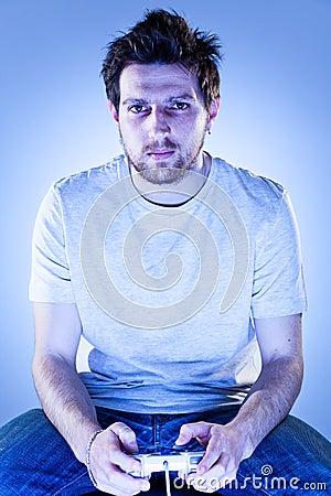 Man with Gamepad