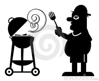 Man and Grill