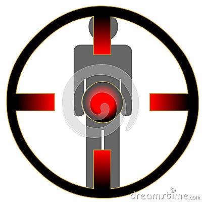 Man at gunpoint