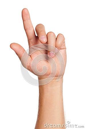 Man hand