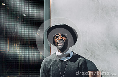 Man With Hat And Bowtie Free Public Domain Cc0 Image