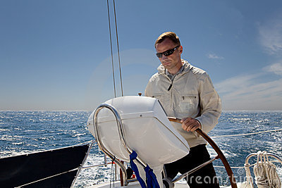 Man at Helm
