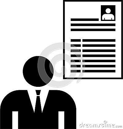 A man and his CV