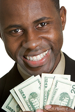 Man Holding Money Royalty Free Stock Photo Image 4872105