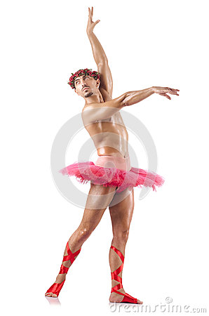 Man i baletttutu