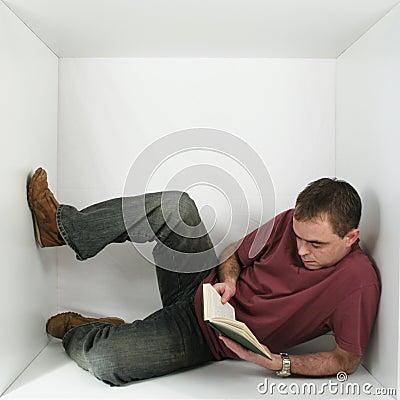 Free Man In A Box Stock Photos - 1550003