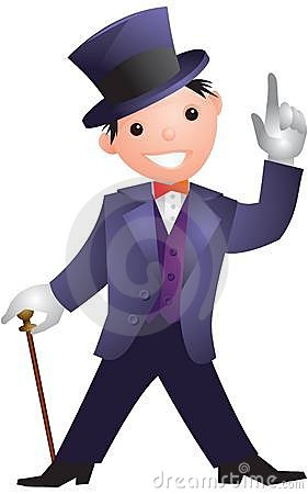 Free Man In A Top Hat Stock Photos - 15129993
