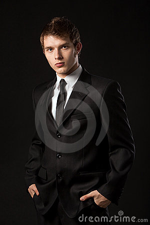 Free Man In A Tuxedo Royalty Free Stock Photography - 13266727