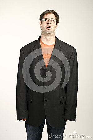 Free Man In Baggy Suit Royalty Free Stock Photography - 39041617