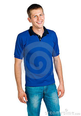 Free Man In Blue Uniforme Stock Photo - 21163780