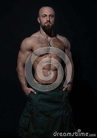 Free Man In Kilt Stock Photo - 119040980