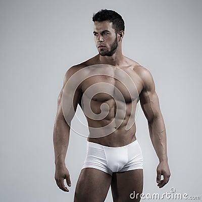 Free Man In Studio Stock Photos - 38920033