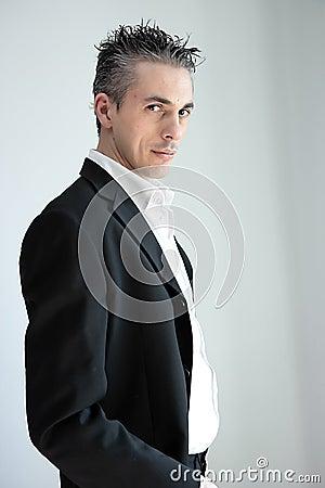 Free Man Jacket Stock Images - 13860834