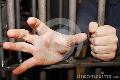 Man in jail trying to reach out