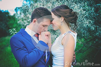 Man Kissing Woman's Right Hand Free Public Domain Cc0 Image