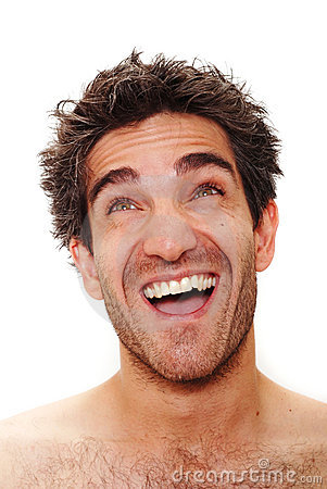 Man Laughing Royalty Free Stock Photo - Image: 5509535