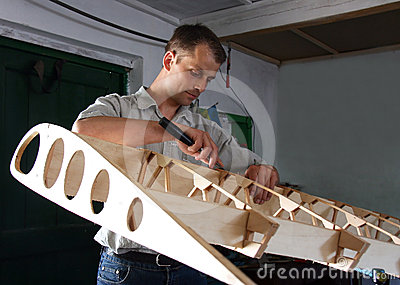 Man makes aircraft