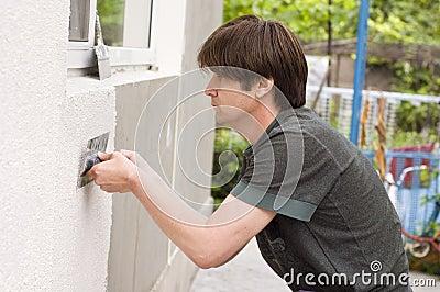 Man makes renovation