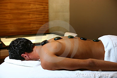 Man on massage