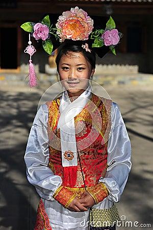 Man Minority Lady, China