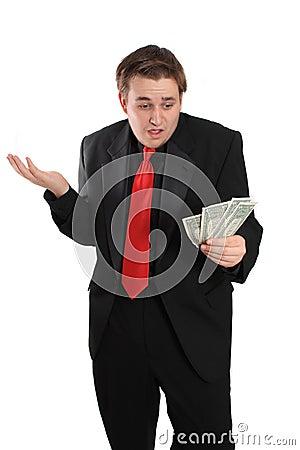 Man with money