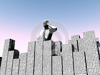 Man Over City 2