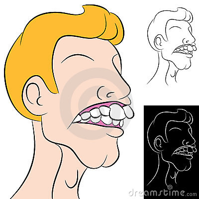 Man With Overbite