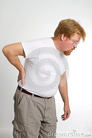 Man Pain Back