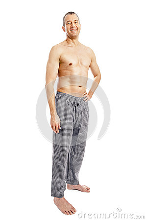 Man pajamas