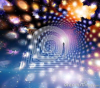 Man path journey