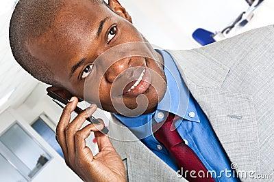 Man at phone