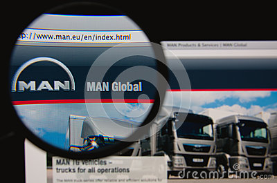 MAN Editorial Stock Photo