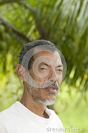 Man portrait Corn Island Nicaraguaa